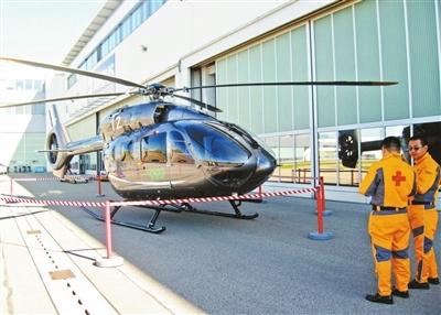 北京急救直升机将投入使用 覆盖整个京津冀地区