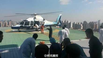 上海至舟山大巴侧翻致6人死亡 直升机参与救援