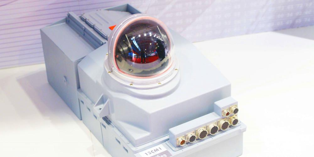 俄罗斯展商展示的光电球