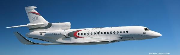 首架达索猎鹰8X即将下线 预计明年初试飞