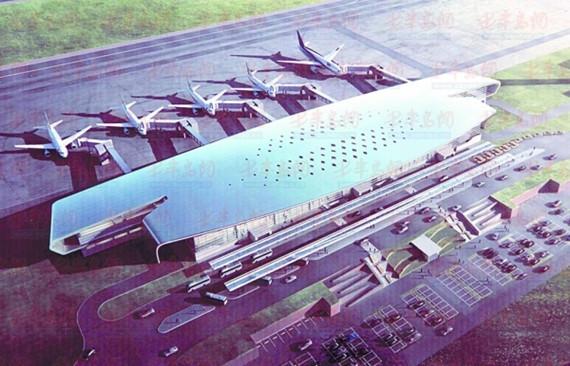 日照飞机场去年年底奠基开工以来,各项工作进展顺利.