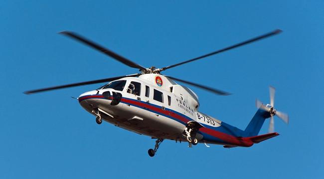 中信海直举行大连警航队驻训首飞仪式