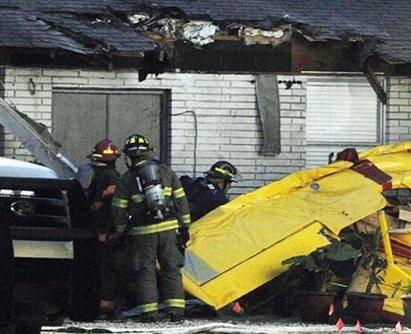 一架飞机坠毁美国格林县 飞行员死亡