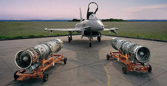 """欧洲""""台风""""战斗机使用的发动机便采用了整体叶盘技术"""