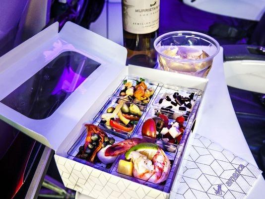 美航企食物健康排名榜出炉 夏威夷航空名列倒数