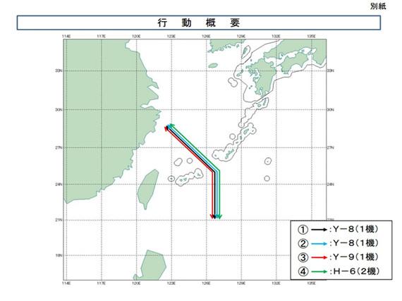 中国军机频越第一岛链 锻远洋空海协同战能