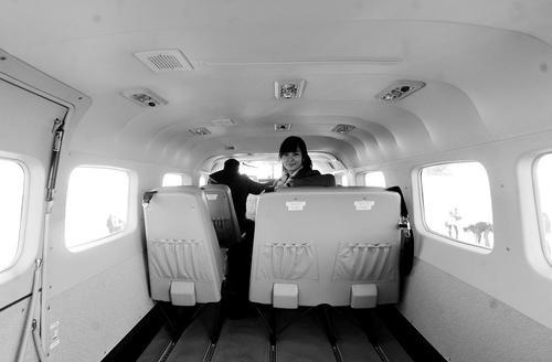 山西首驾公务小飞机落户太原 9个旅客座位