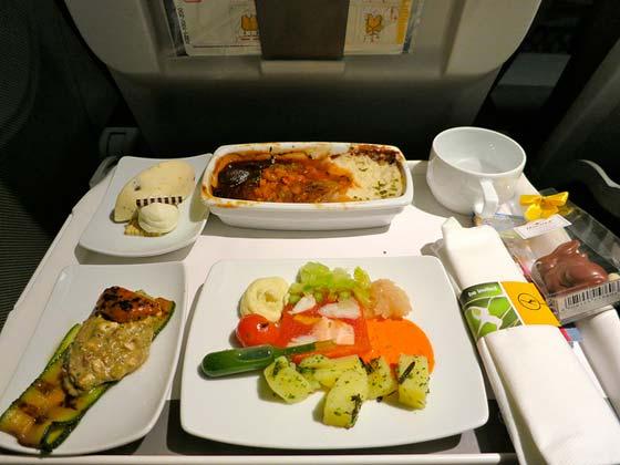 汉莎航空飞机餐