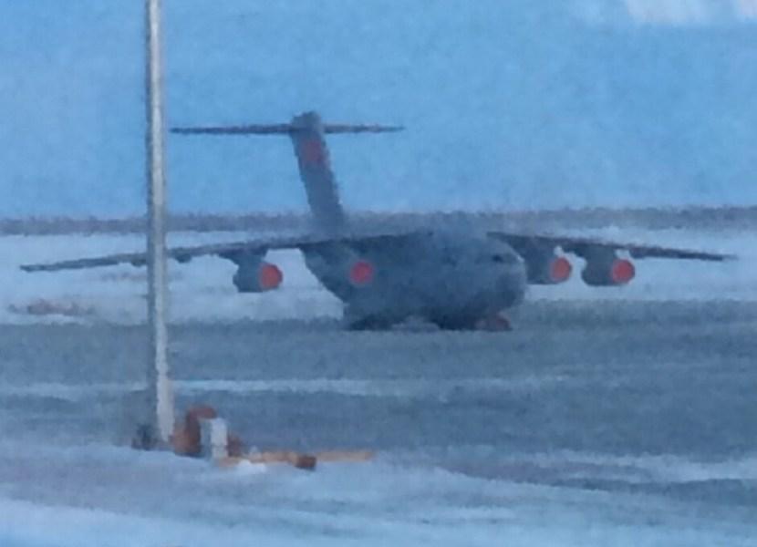 中国运20运输机现身东北机场疑似寒区测试