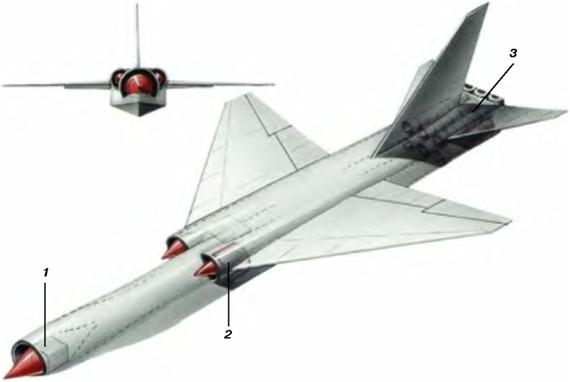 前苏联最高机密核动力飞机
