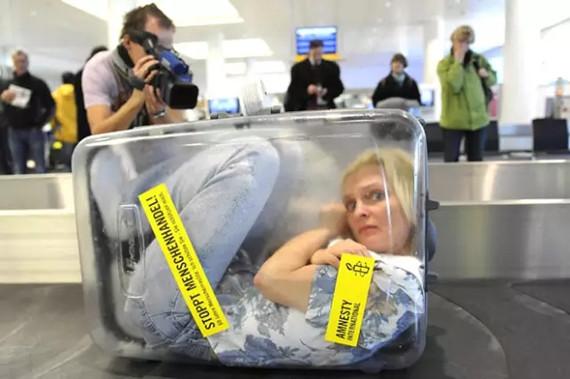 坐飞机免费托运行李