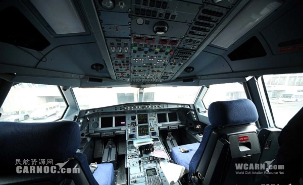 民航贴图:神秘的飞机驾驶舱集锦