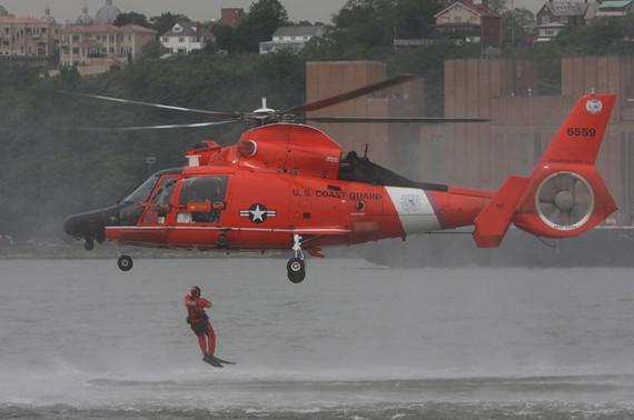 美国海岸警卫队海上救援