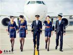 青岛航空首航一周年 宣传照堪比时尚大片