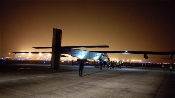 世界最大太阳能飞机停留在南京的那些日子
