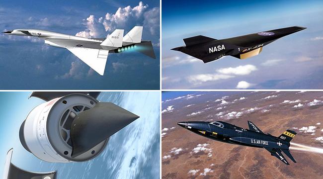 盘点世界十大最快飞行器:美国竟然占了八个
