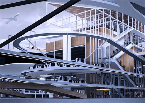 居民楼顶建机场跑道?未来城市设计脑洞大开