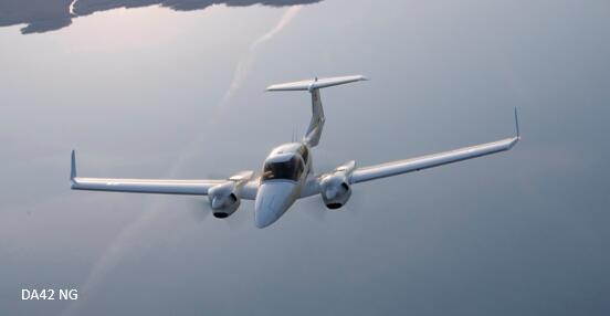 中电科芜湖钻石飞机公司生产的da42系列双发四座