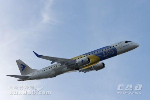 这两架飞机是天津航空与巴航工业在2014年中国国家