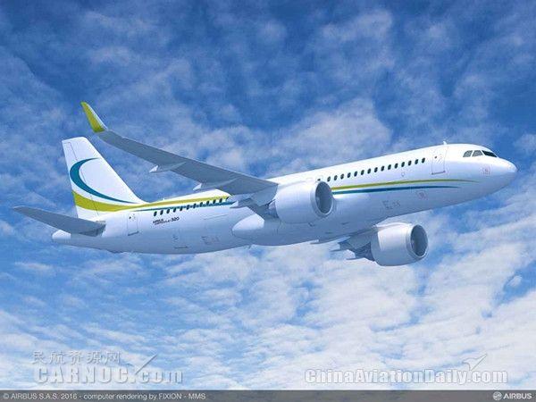 逸华航空订购3架空客acj320neo公务机