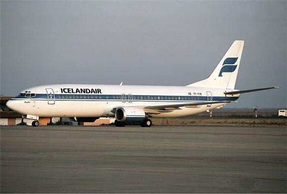 """""""冰岛航空公司的人用冰岛语互相"""
