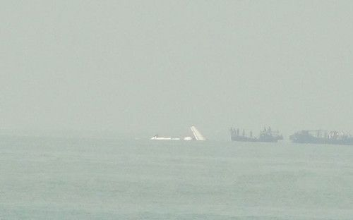 这架货运飞机在起飞几分钟后,于当地时间9时05分坠入大海.