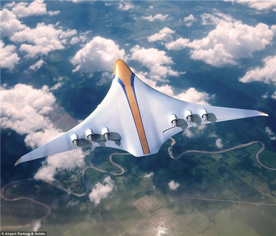 英国团队推出2050年未来飞机概念