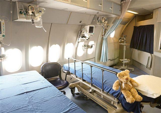 奥比斯飞机医院飞机内部设施