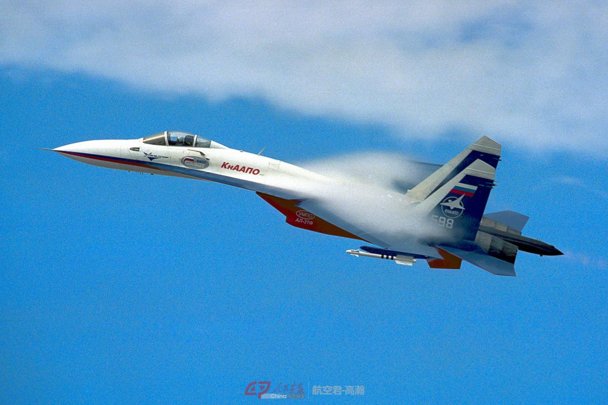 """被网友命名为""""苏霍伊披风""""的苏-27战斗机"""
