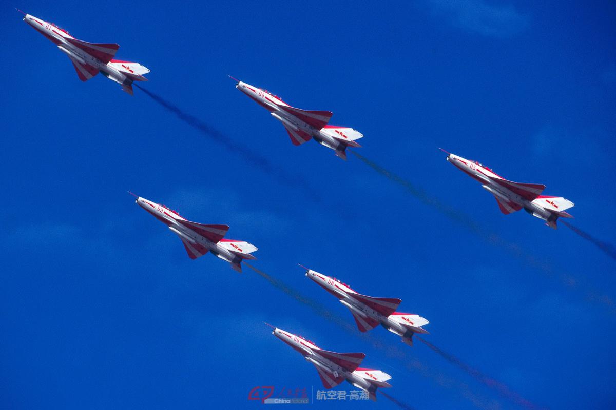 八一飞行表演队在航展的首秀