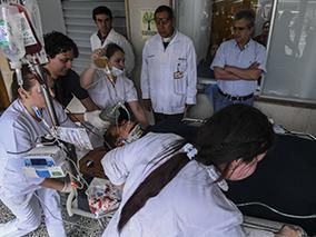 一架客机在哥伦比亚失事 机上81人有6名幸存者