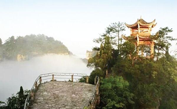 黔东南云台山景区明年有望实现直升机观光