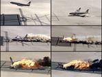 30年前坠机实验曝光 飞机燃烧1小时