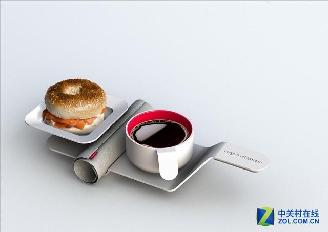 颜值爆表!国外飞机上竟有如此别致的餐具